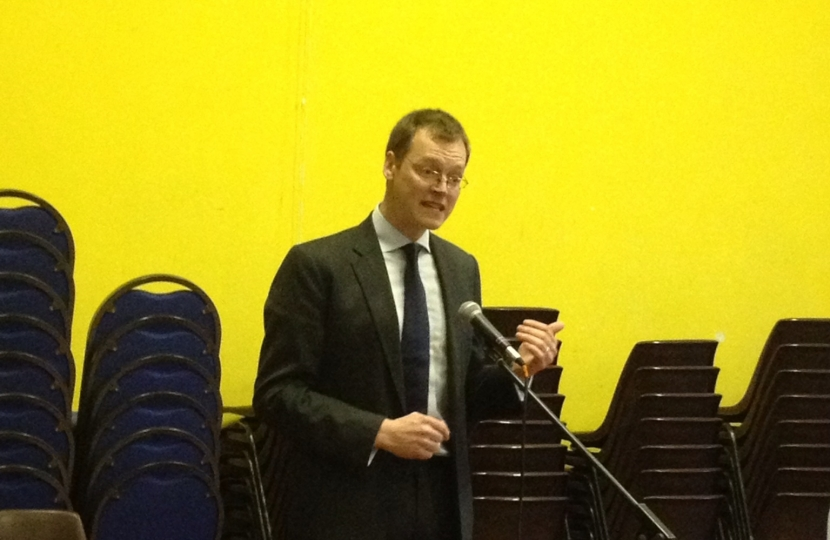 Michael Tomlinson on being selected PPC for Mid Dorset and North Poole